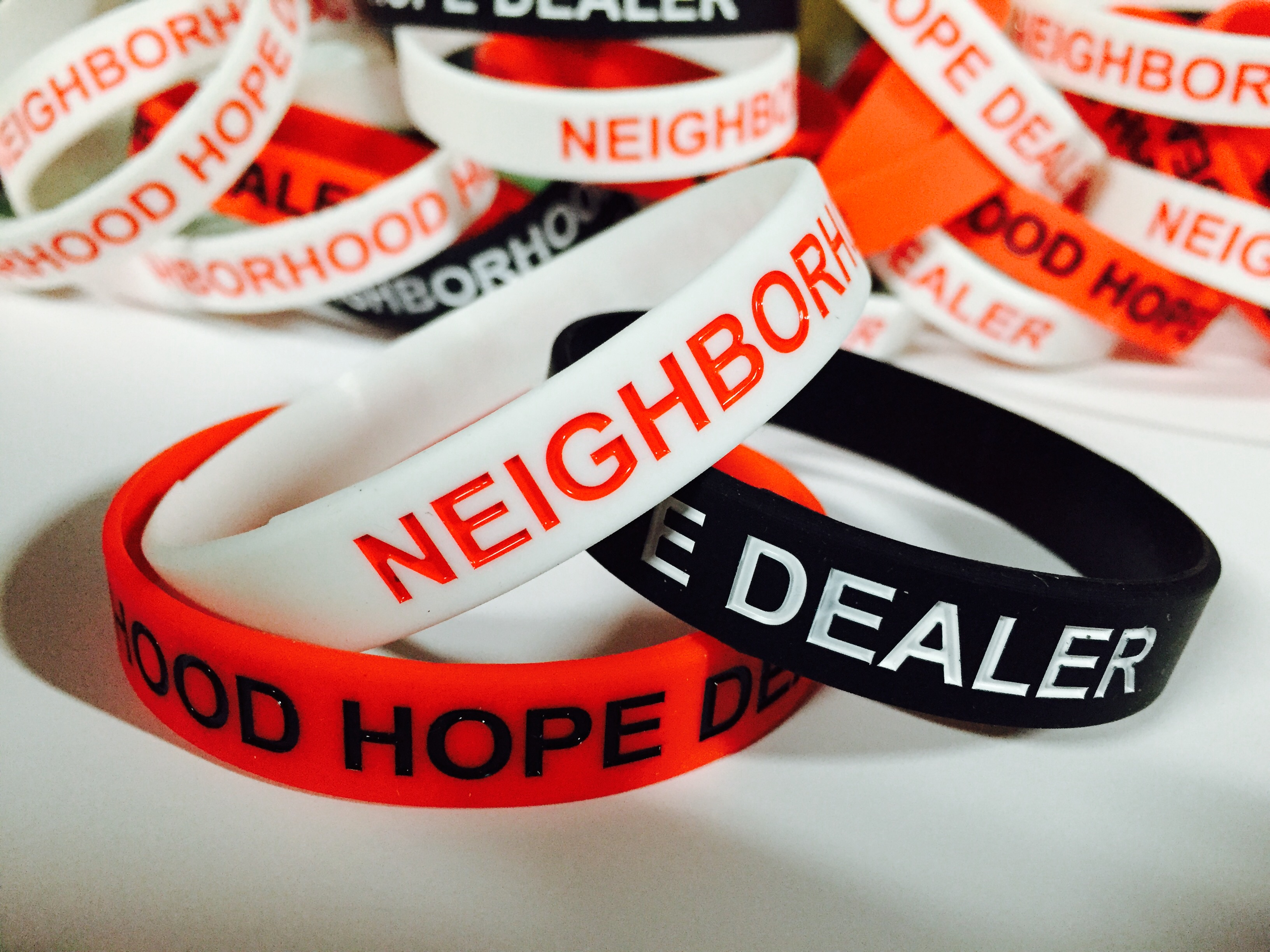 Hope Dealer Wristband Neighborhood Hope Dealer
