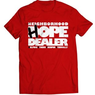 HOPE Dealer t-shirt (red)