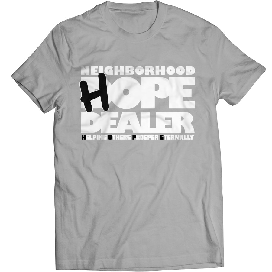 HOPE Dealer t-shirt (grey)