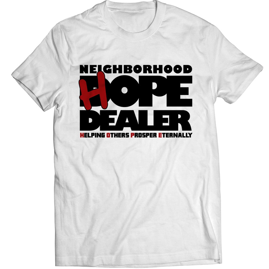 Hope Dealer T Shirt White Neighborhood Hope Dealer