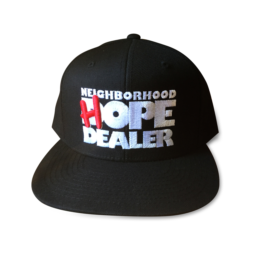 Black Hope Dealer Hat Neighborhood Hope Dealer