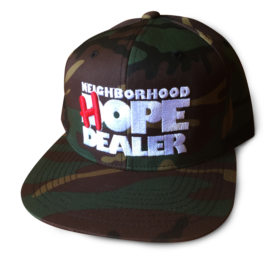 Camo HOPE Dealer Hat